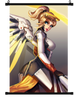Overwatch Mercy Wall Scroll 01