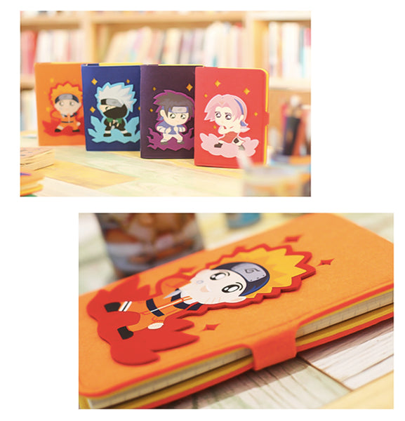 Hand Crafted Naruto Soft Cover Notebooks