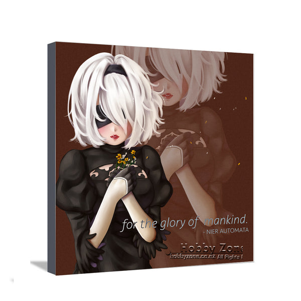 Nier Automata Glory of Mankind Canvas