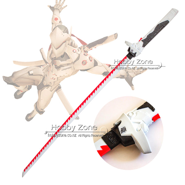 OW Nihon Genji Dragon Blade Foam Cosplay Sword