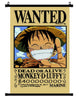 Anime One Piece Luffy Wanted Wall Scroll