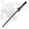 Overwatch Oni Genji Dragon Blade Foam PU LARP Cosplay Sword