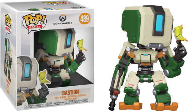 "Overwatch - Bastion 6"" Super Sized Pop! Vinyl Figure"