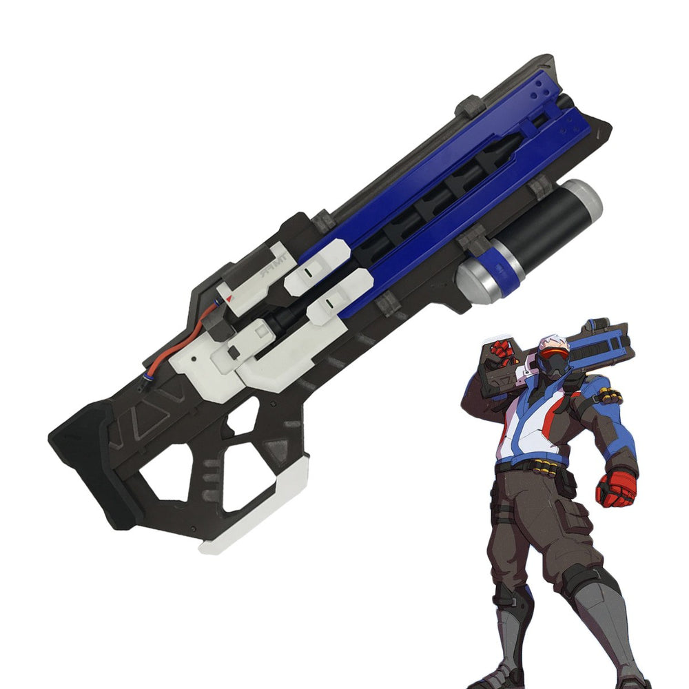 Overwatch Soldier 76 Heavy Pulse Rifle Cosplay