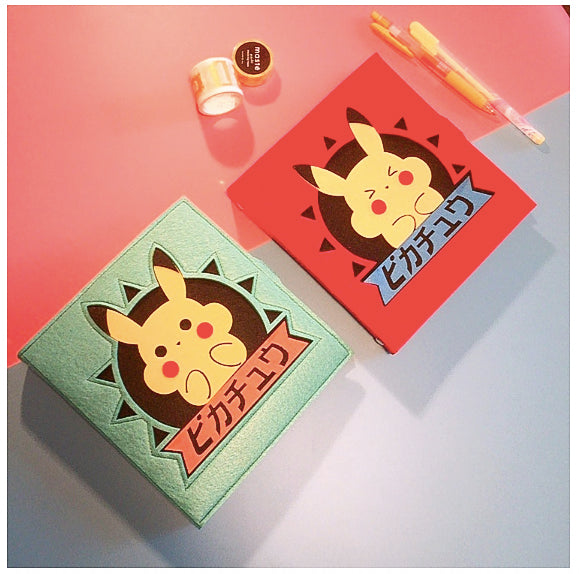 Hand Crafted Pokemon Pikachu Soft Cover Notebooks