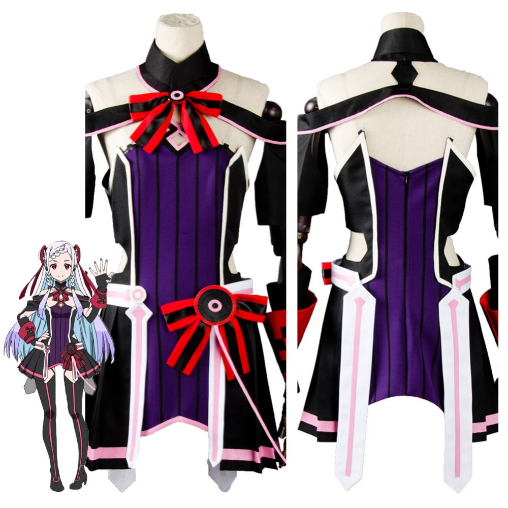 Sword Art Online The Movie Ordinal Scale Yuna Cosplay Costume