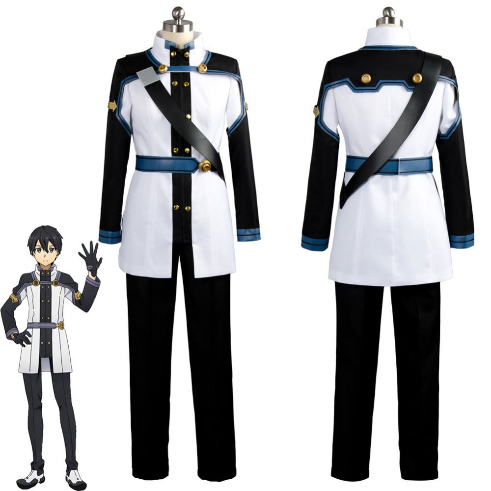 Sword Art Online SAO the Movie Ordinal Scale OS Kirito Kirigaya Cosplay Costume