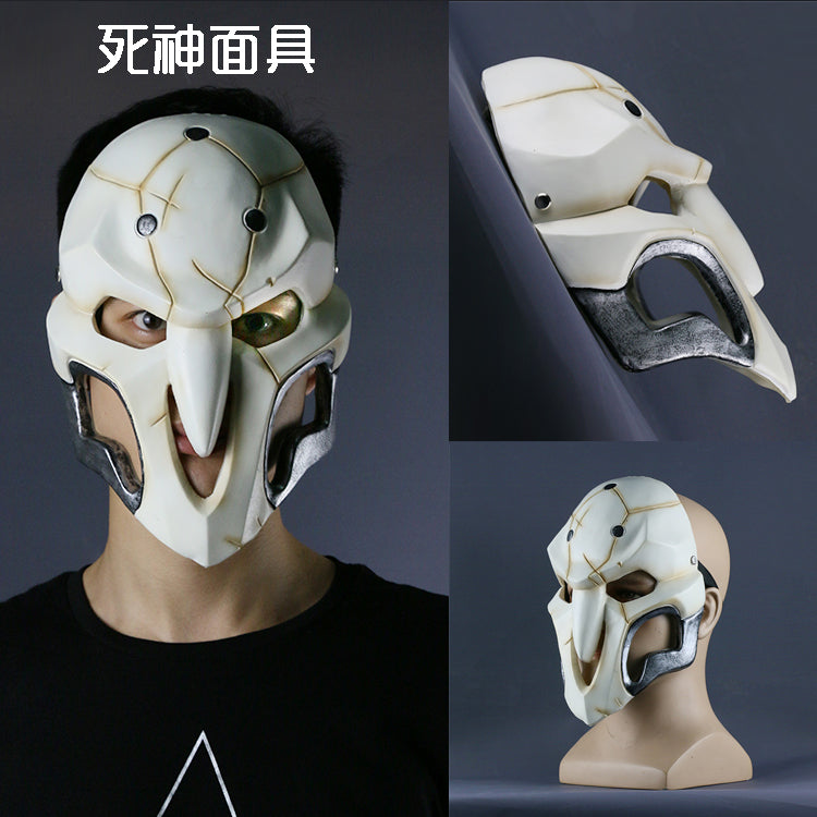 Overwatch Reaper Mask Cosplay