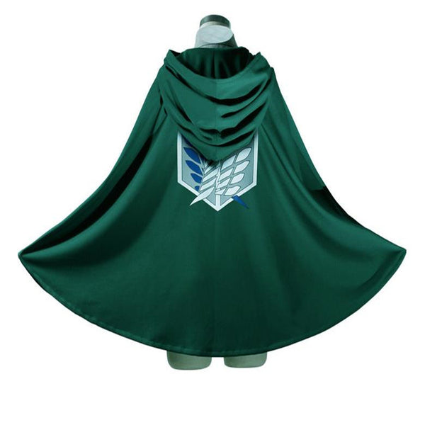 Attack on Titan Survey Corp Cosplay Cloak