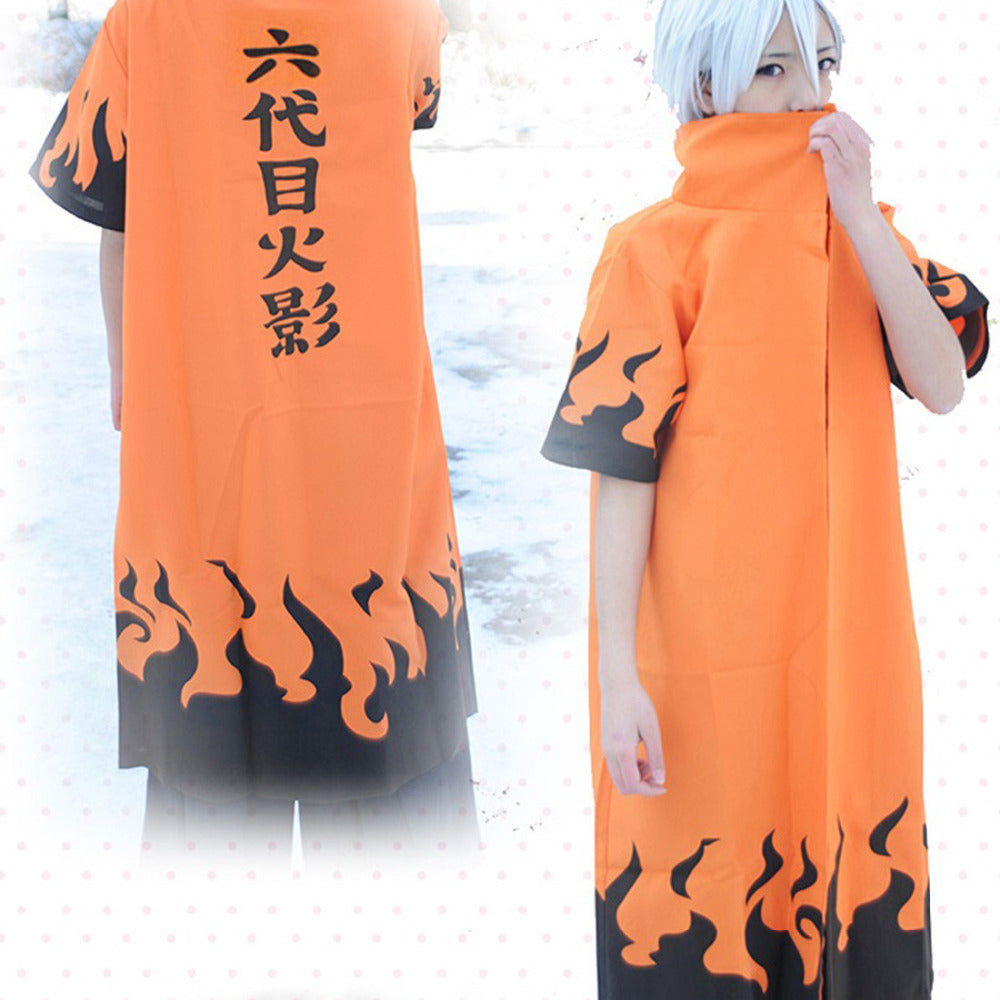 Naruto 6th Hokage Cosplay Cloak
