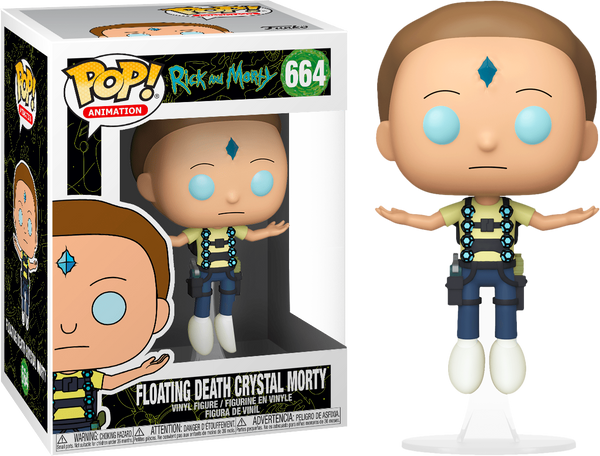 Rick and Morty - Floating Death Crystal Morty Pop! Vinyl Figure (RS)