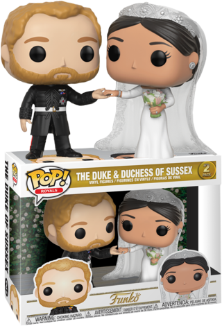 Royal Family - Duke & Duchess of Sussex Pop! Vinyl Figure 2-Pack