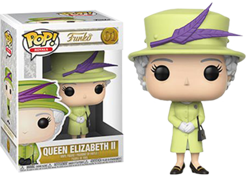 Royal Family - Queen Elizabeth II in Green Dress Pop! Vinyl Figure