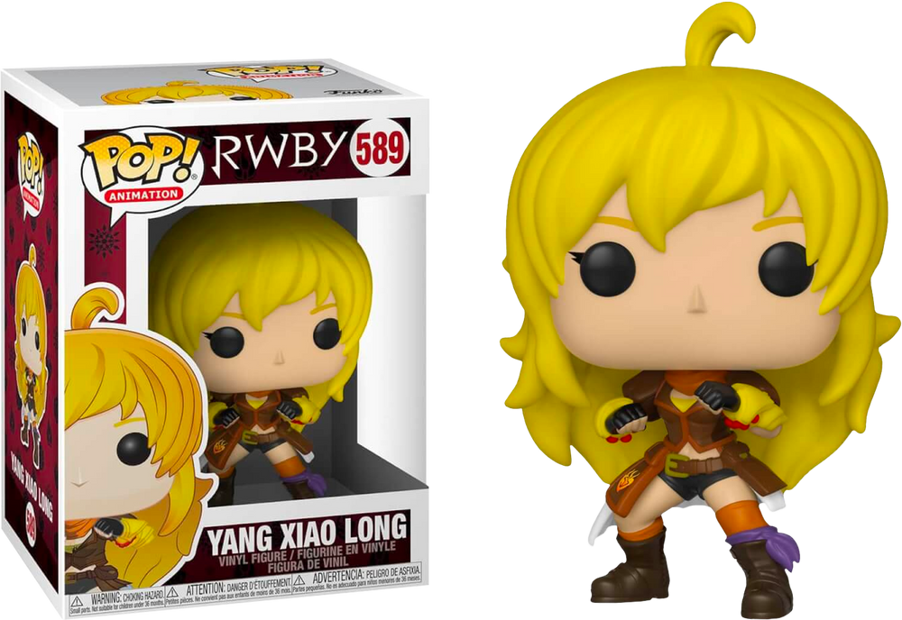 RWBY - Yang Xiao Long Pop! Vinyl Figure