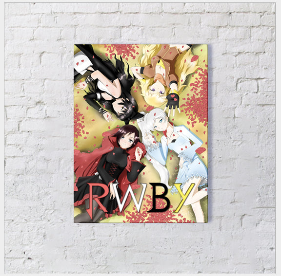 RWBY Group Canvas Collection
