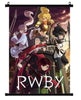 Anime RWBY Group wall scroll 02