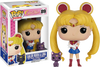 Sailor Moon - Sailor Moon with Luna Pop! Vinyl Figure