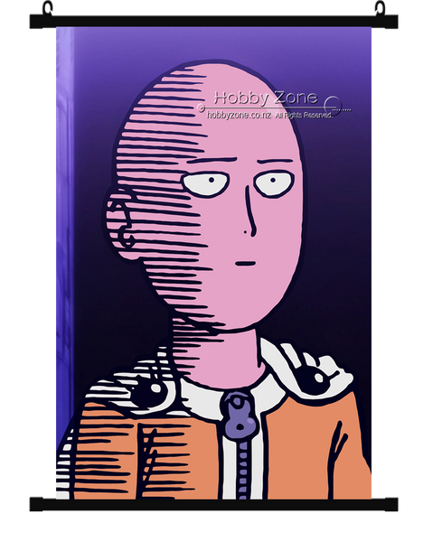 Anime One Punch Man Saitama Wall Scroll 05