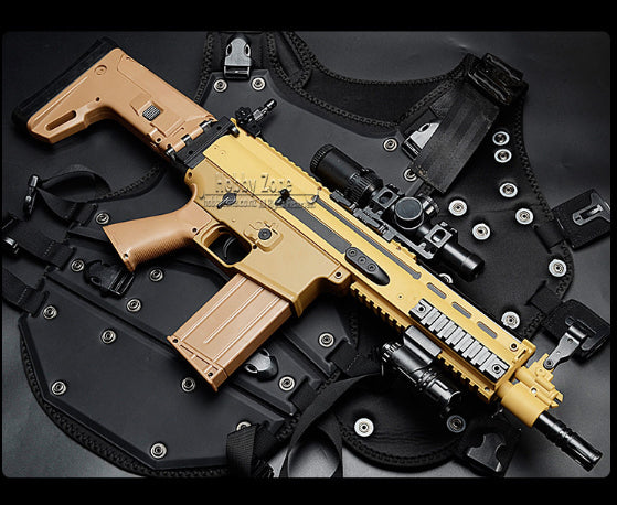 LH SCAR-L  MK16 Gel Ball Blaster Rifle Gun