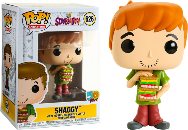 Scooby-Doo - Shaggy with Sandwich Pop! Vinyl Figure