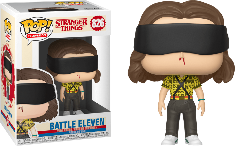Stranger Things 3 - Battle Eleven Pop! Vinyl Figure