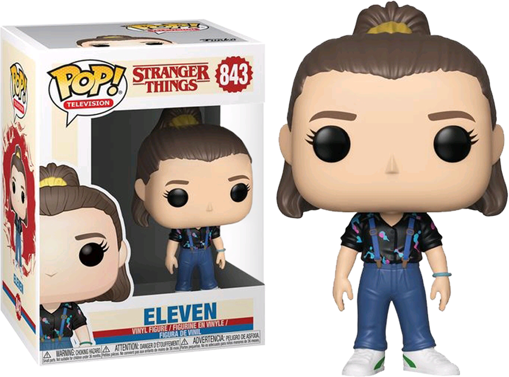 Stranger Things 3 - Eleven with Overalls Pop! Vinyl Figure