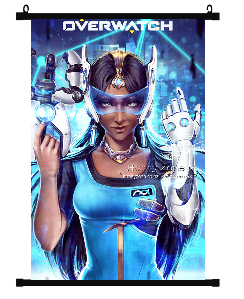 Overwatch Symmetra Wall Scroll 01
