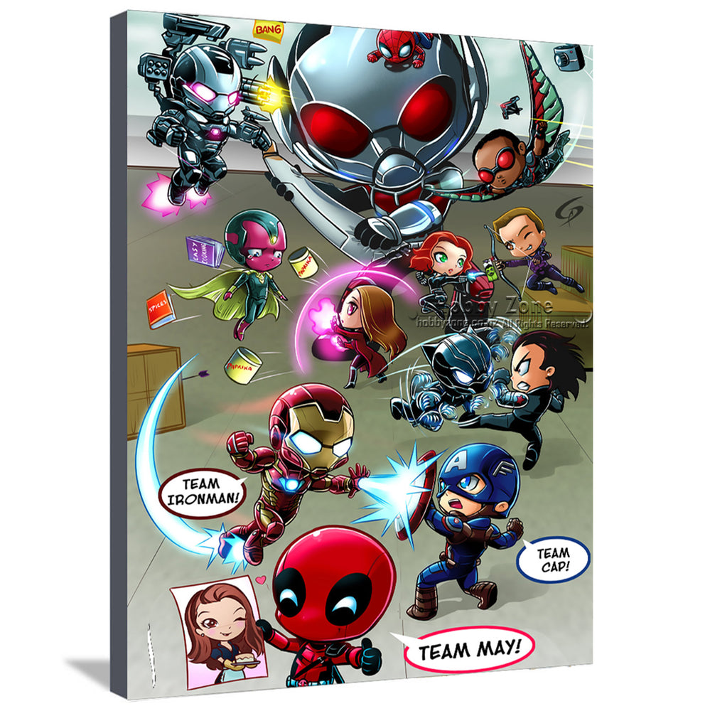 Baby Superheros Canvas