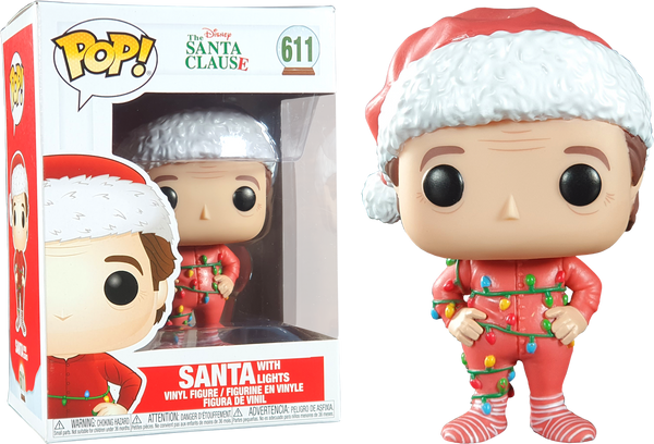 The Santa Clause (1994) - Santa Clause with Lights Pop! Vinyl Figure