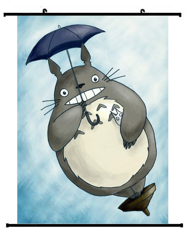 My Neighbour Totoro: Flying Totoro Wall Scroll