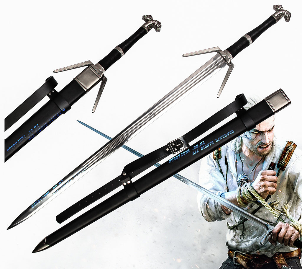 The Witcher 3: Wild Hunt Geralt Of Rivia Legendary Wolven Silver Sword