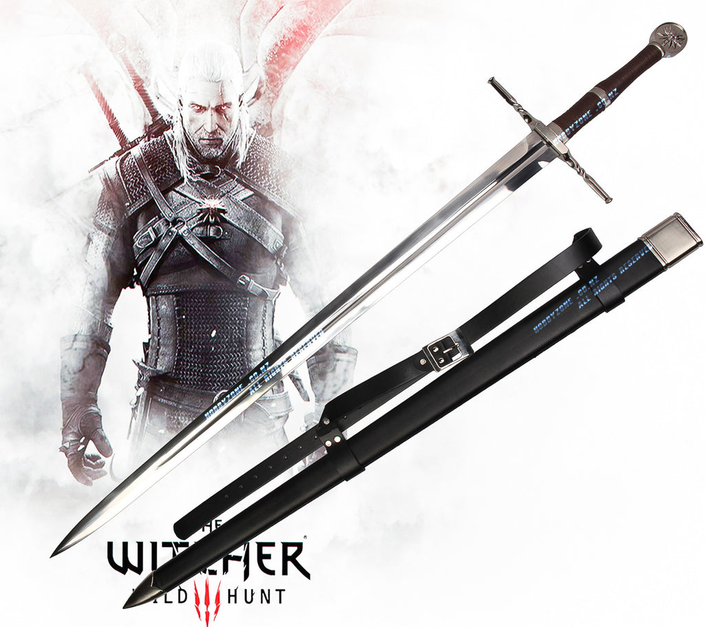 The Witcher 3: Wild Hunt Geralt Of Rivia Silver Sword