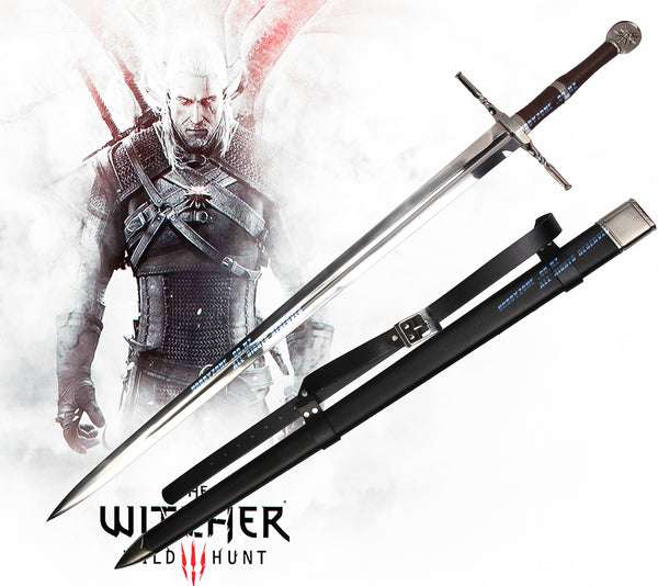 The Witcher 3: Wild Hunt Geralt Of Rivia Steel Sword