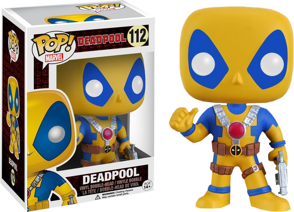 Deadpool - Yellow Deadpool Pop! Vinyl Figure