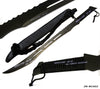 Zombie Killer Full Tang Black Ninja Sword Machete 2