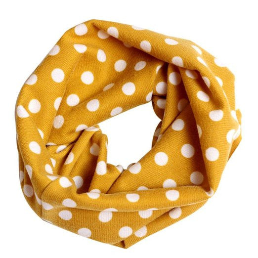 Winter Warm Neckerchief  Fashion Multicolor Children Cotton Scarf Kids