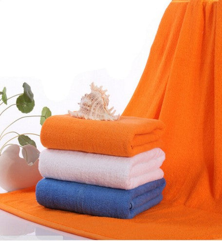 Cotton Thicken Water Sucking Bath Swimming Towels