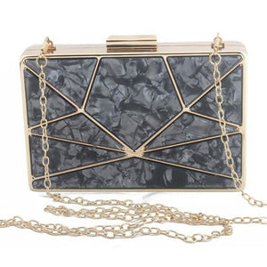 Acrylic Decoration Clutch