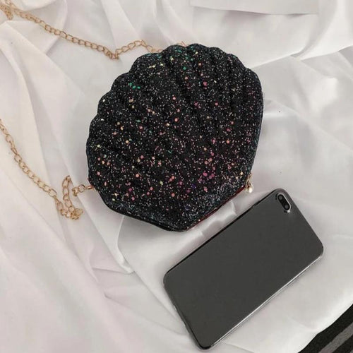 Cute Sequins Shoulder Bag