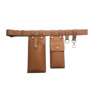 Leather Waist Belt Bag