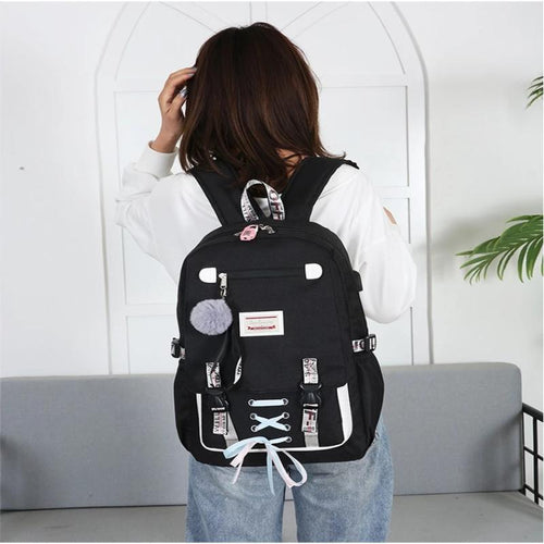 Anti Theft Backpack With Lock