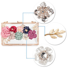 Load image into Gallery viewer, Acrylic Flower Clutch
