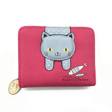 Load image into Gallery viewer, Cute Cat Wallet
