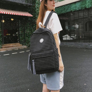 Double Grid Backpack