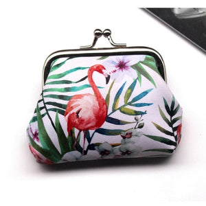 Vintage Women Printing Coin Purse