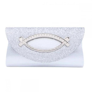 Diamond Sequin Clutch