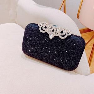 Sequined Scrub Clutch
