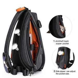 Multi-Function Men Crossbody Bag