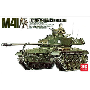 1:35 Model Building Kits Tank M41 WALKER BULLDOG 35055 Tank Assembly DIY - thefashionique