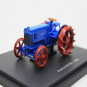 1:43 Simulation Retro UH Austin BO28-1926 Walking Tractor Collection Model Alloy Die-casting Farmer Model